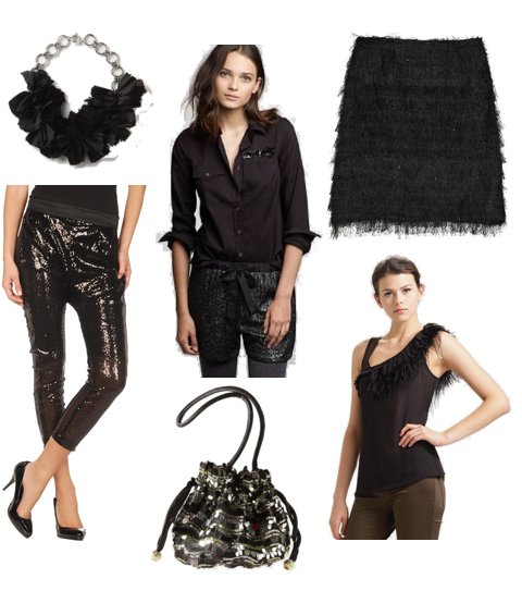 Stylish Black Holiday Pieces