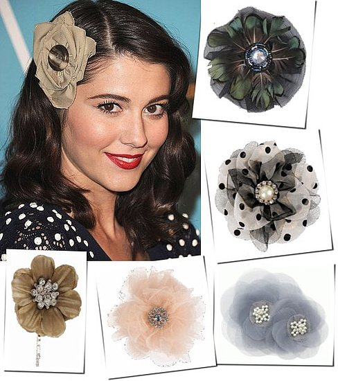 Pretty Vintage Style Rosette Hair Pins and Clips