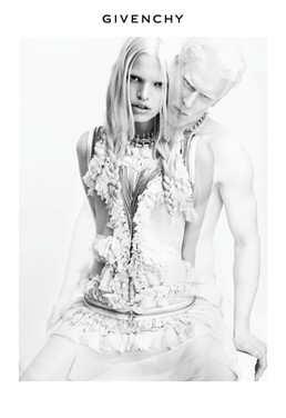 Givenchy Spring 2011 Ad, Featuring Albino Model Stephen Thompson - Thoughts?