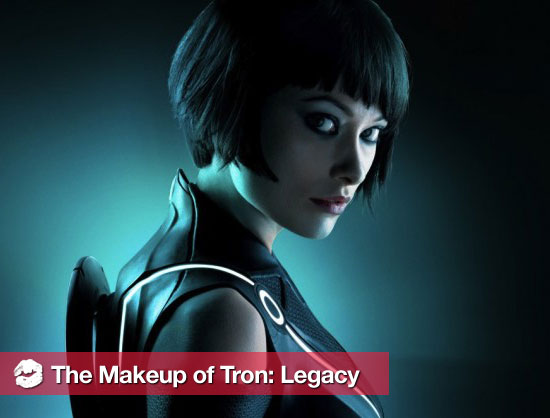 The Makeup Used in Tron: Legacy