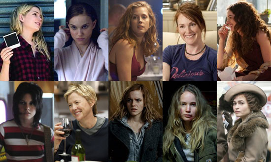 Best Dramatic Actresses of 2010