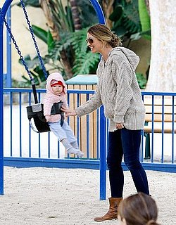 Pictures of Rebecca Gayheart at a Park in LA With Daughter Billie Dane