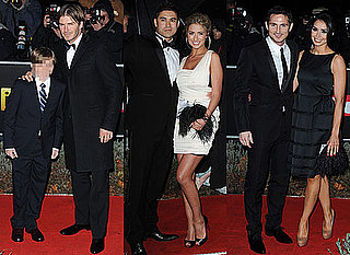 Pictures of David Beckham, Brooklyn, Chantelle Houghton, Rav Wilding, Christine Bleakley, and Frank Lampard at Night of Heroes