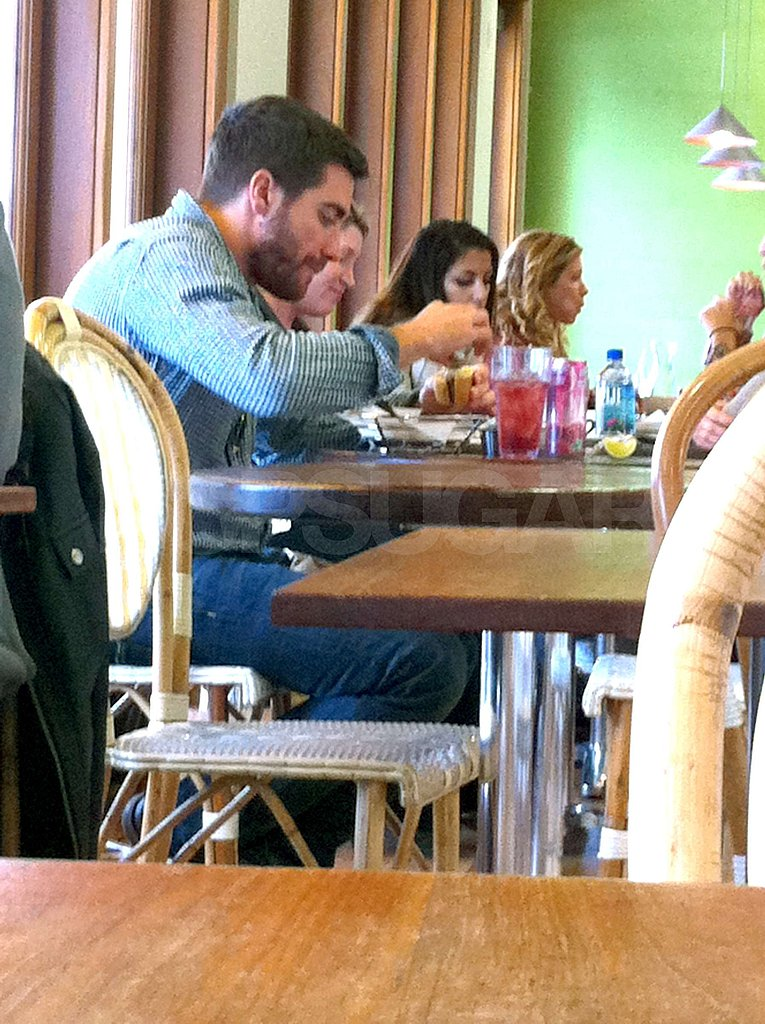 Pictures of Jake Gyllenhaal Eating Lunch at M Cafe in Los ... Jake Gyllenhaal Instagram