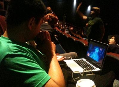 Tron Legacy Midnight Screenings