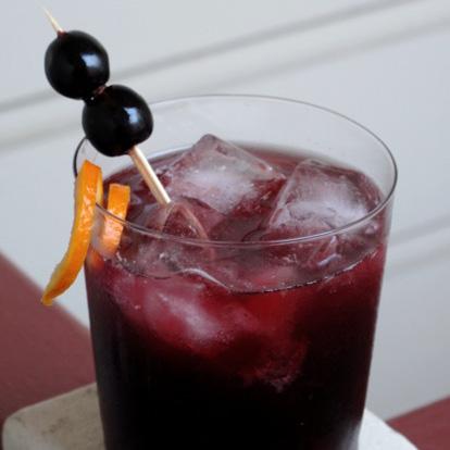 Mulled Manhattan Cocktail