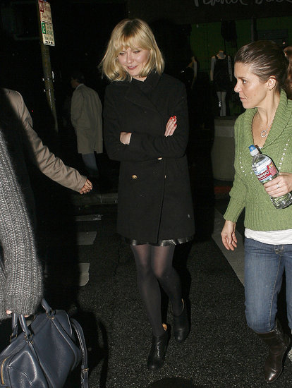 Pictures of Kirsten Dunst Leaving a Santa Monica Movie Theater