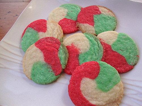 Swirled Mint Cookies