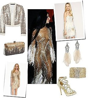 70s Cher Wears Gold and Glitter