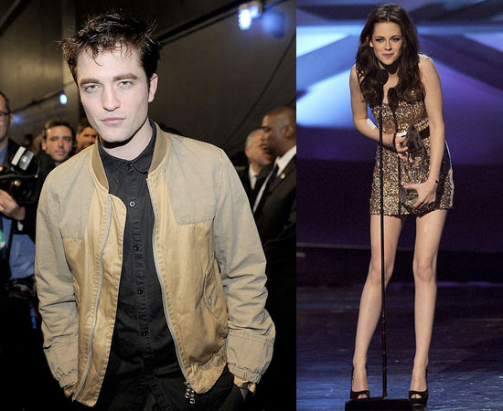 Condensed Sugar: Robert and Kristen Sizzle At the People's Choice Awards!