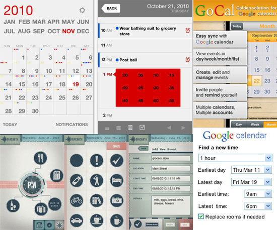 Calendar Apps For New Year's Resolutions