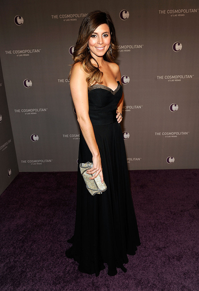 Jamie-Lynn Sigler took it to the max with a long, strapless J.Mendel dress.