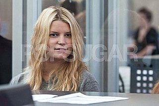 Pictures of Jessica Simpson at the Airport