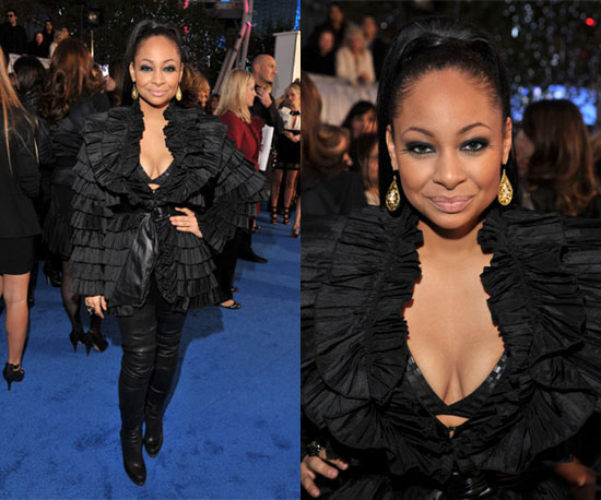 Raven-Symone at 2011 People's Choice Awards 2011-01-05 17:48:15