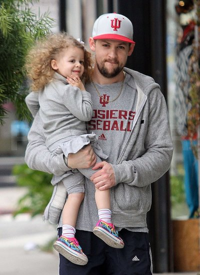 Pictures of Joel Madden With Harlow Madden in LA