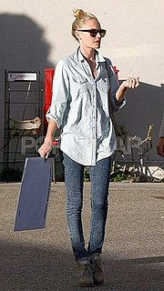 Pictures of Kate Bosworth at LA Camera Store