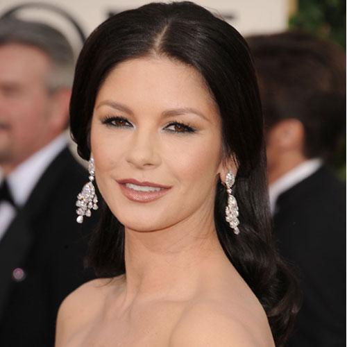 Catherine Zeta-Jones at 2011 Golden Globes