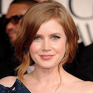 Amy Adams's Golden Globes Hair and Makeup