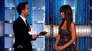 Video of Robert Pattinson Presenting With Olivia Wilde at the 2011 Golden Globe Awards