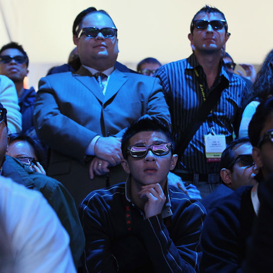 Waiting In Line at CES