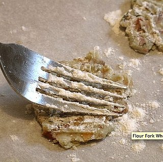 To Prevent Sticking, Flour Your Fork While Pressing Cookies