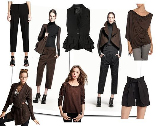 Mixing Black and Brown Clothing