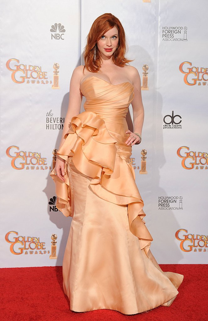 Christina Hendricks in 2010.