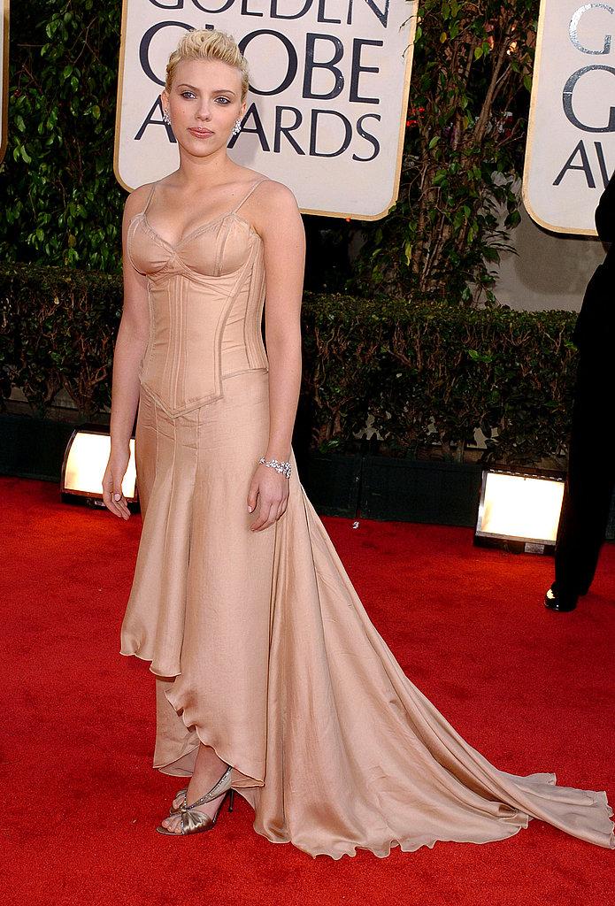 Scarlett Johansson in 2004.