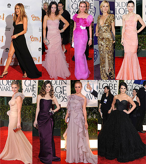 2010 Golden Globes Best Dressed: Diane Kruger, Lea Michelle and Chloe Sevigny