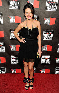 Pictures of Mila Kunis at 2011 Critics' Choice Awards