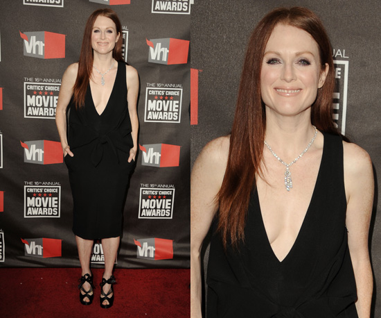 Julianne Moore at 2011 Critics' Choice Awards