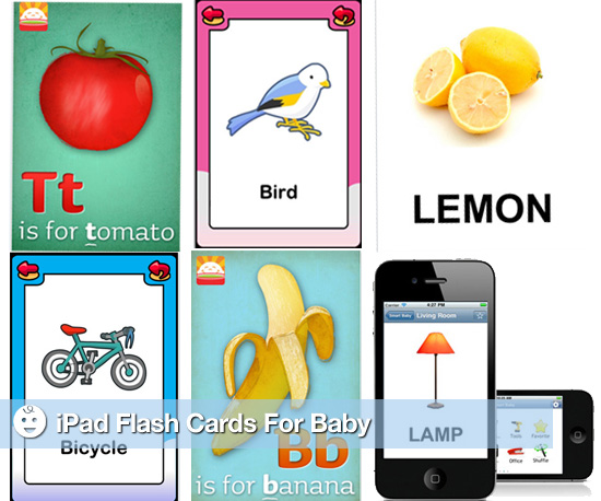 Baby Flash Cards For Your iPad