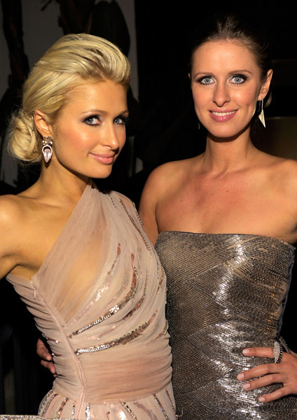 Nicky Hilton's cool ring.