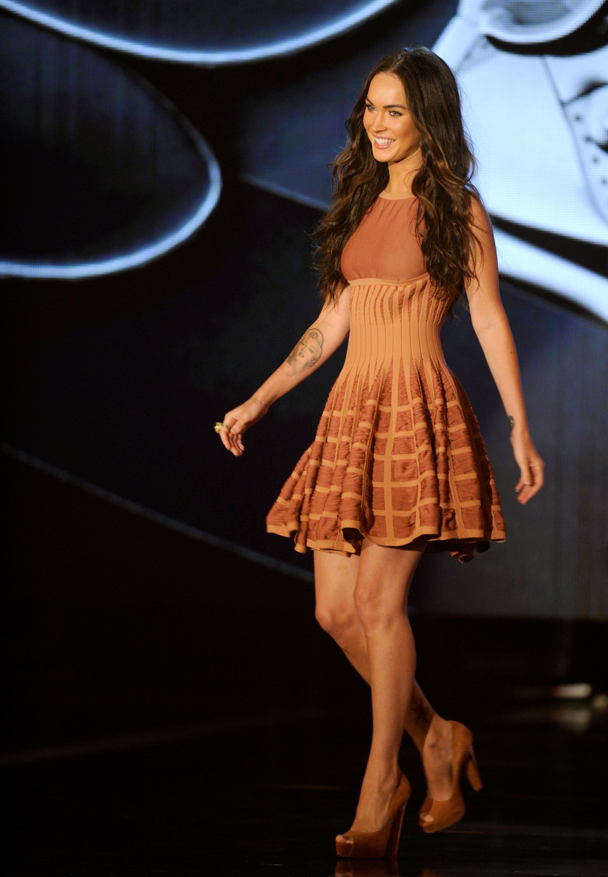 Alaia Dress this copper dress for a