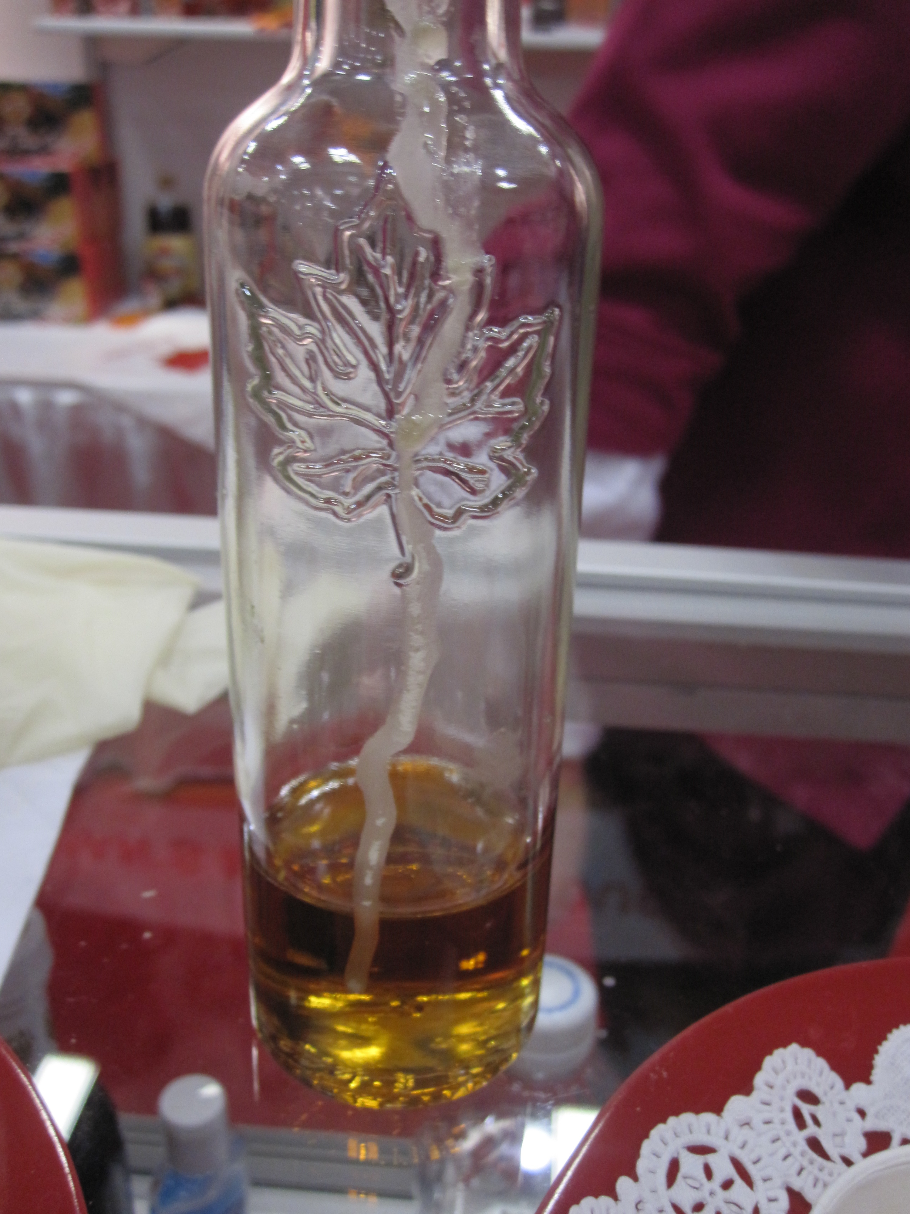 Maple Syrup Infused With Ice Wine
