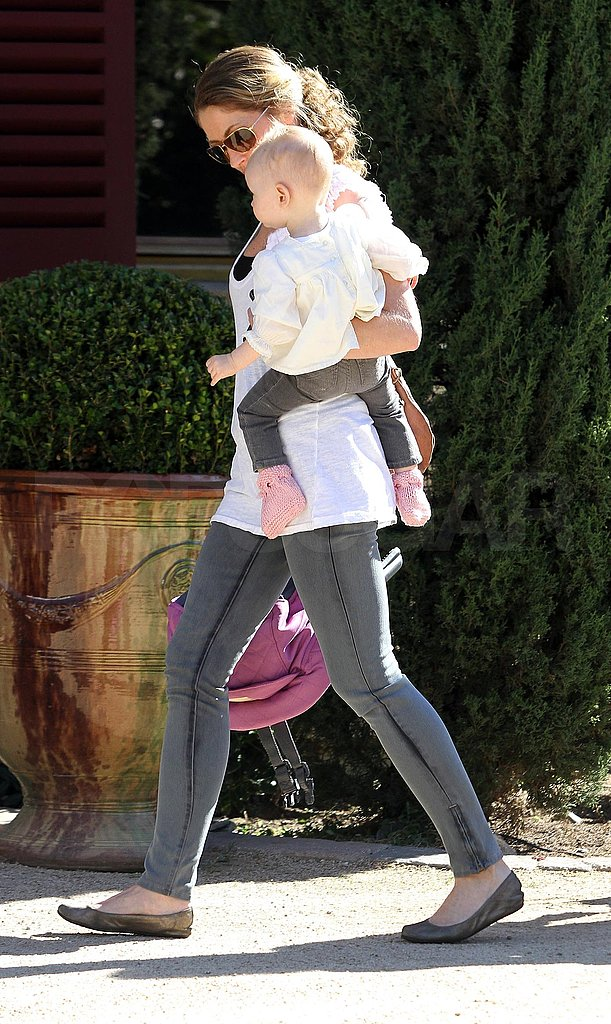 Rebecca and Billie Explore LA While Dad Eric Reports For Grey's Duty