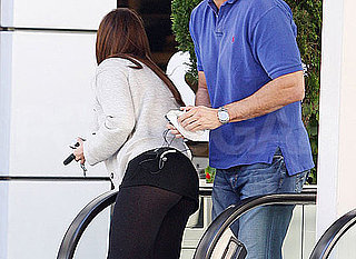 Picture of Celebrity Wearing Leggings to Lunch