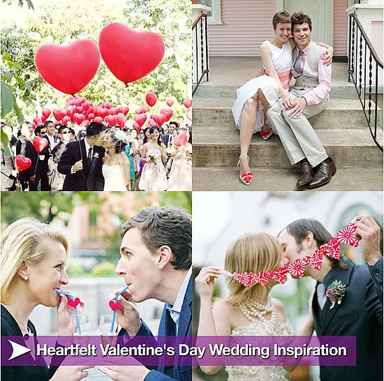 Sugar Shout Out: Get Inspired to Throw a Valentine's Day Wedding!