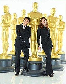 Anne Hathaway Wears J. Mendel For 2011 Oscars Promo Shot