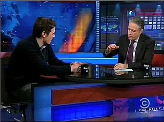 Jon Stewart Gives James Franco Some Oscar Advice