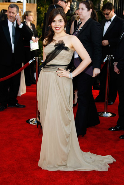 America Ferrera went for total glam in '09.