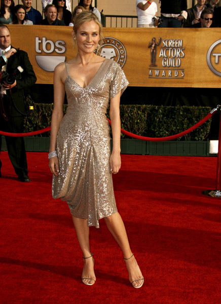 Diane Kruger at the 2007 SAG Awards
