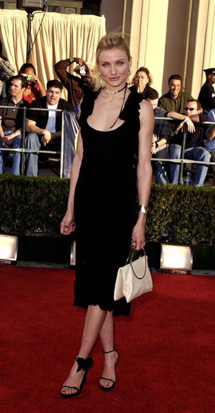 Cameron Diaz at the 2002 SAG Awards