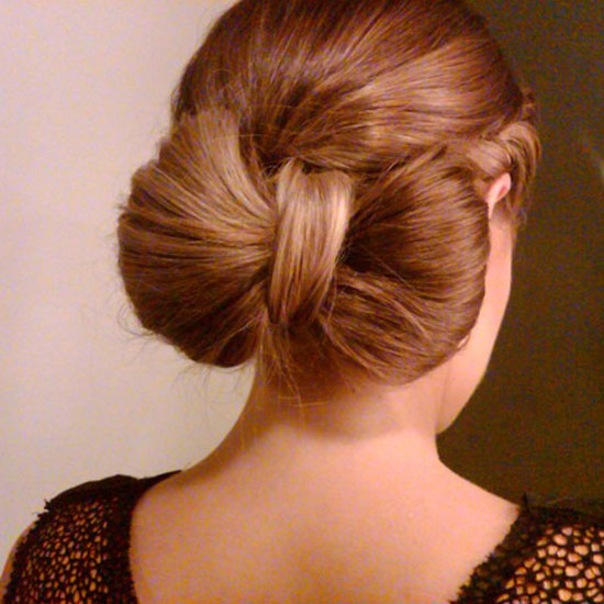 Lauren Conrad showed off her sweet bow hairstyle.  Source: Twitter user laurenconrad