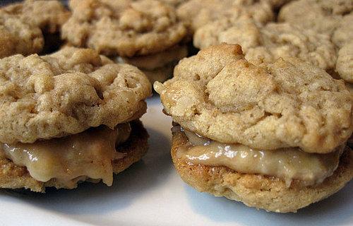 Peanut Butter Oatmeal Sandwich Cookie Recipe