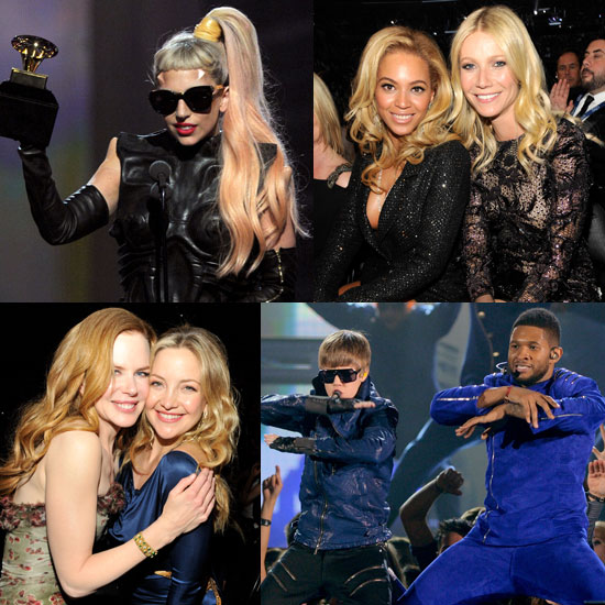 Pictures of the 2011 Grammys Show With Gwyneth Paltrow, Beyonce, Justin Bieber, Usher, Lady Gaga and More