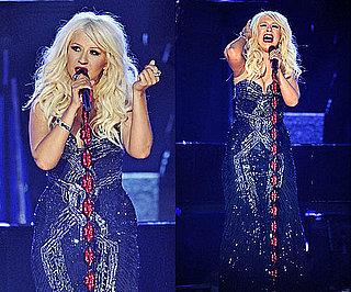 Christina Aguilera Grammys 2011