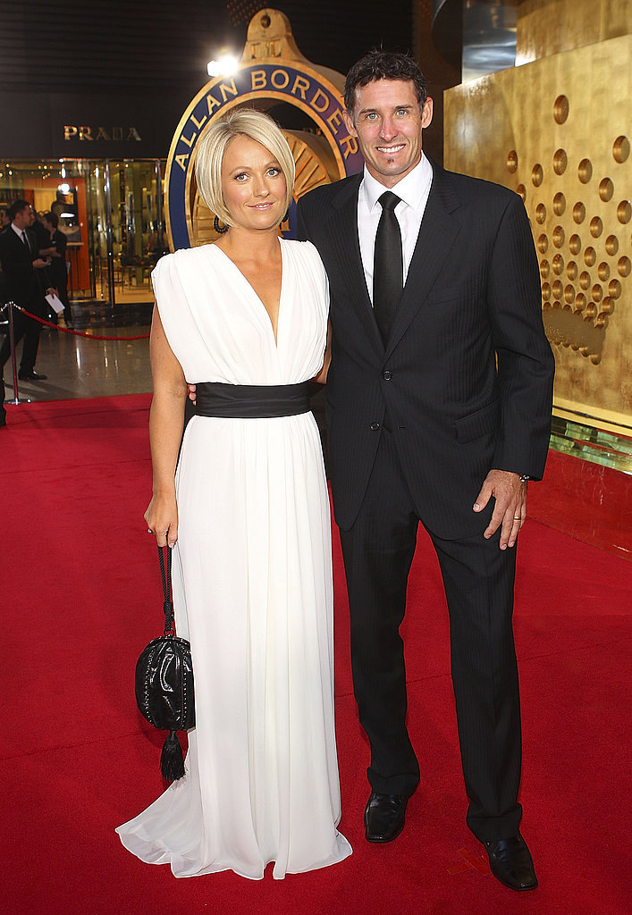 Amy and Mike Hussey