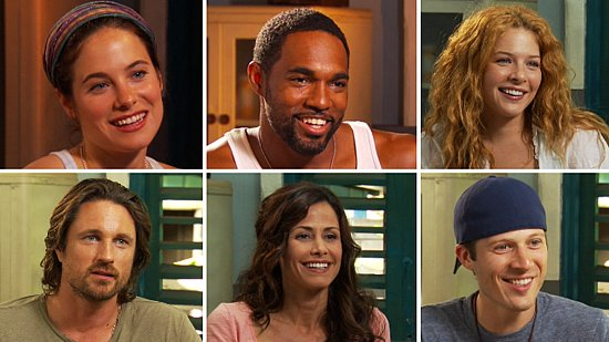 Video of the Cast of Off the Map: Rachelle Lefevre, Zach Gilford, and More in Hawaii