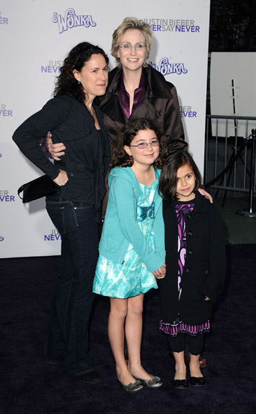 Jane Lynch and Family